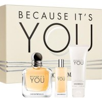 ARMANI Because It's You Giftset EDP 100 ml